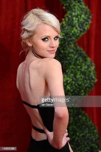 Actress Hetti Bywater attends The 2012 British Soap Awards at ITV Studios on April 28 2012 in London England
