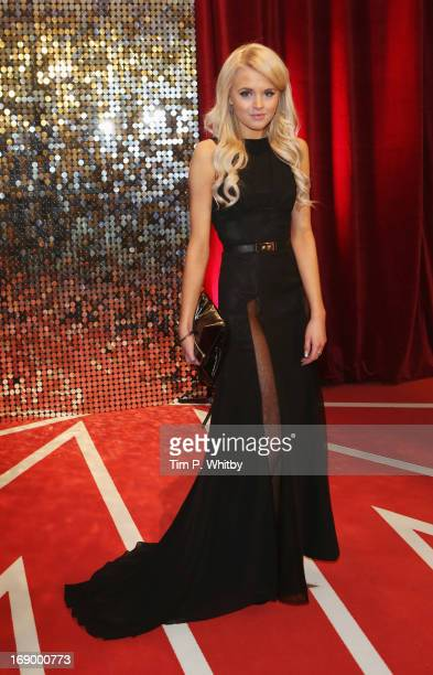 Actress Hetti Bywater attends the British Soap Awards at Media City on May 18 2013 in Manchester England