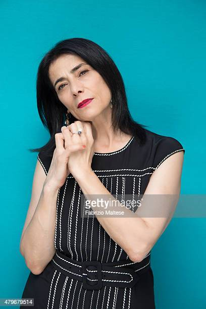 Actress Hiam Abbass is photographed for The Hollywood Reporter on May 15 2015 in Cannes France