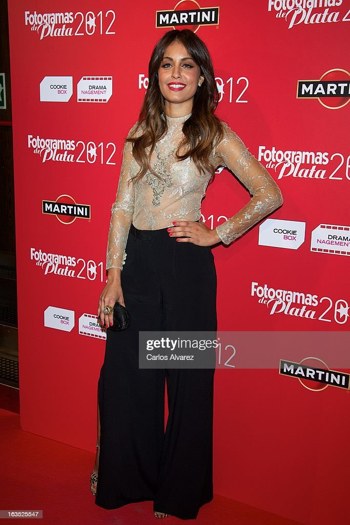 Actress Hiba Abouk attends Fotogramas awards 2013 at the Joy Eslava Club on March 11, 2013 in Madrid, Spain.