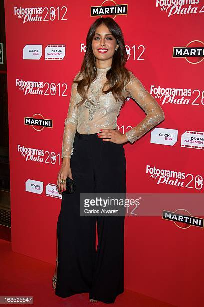 Actress Hiba Abouk attends Fotogramas awards 2013 at the Joy Eslava Club on March 11 2013 in Madrid Spain