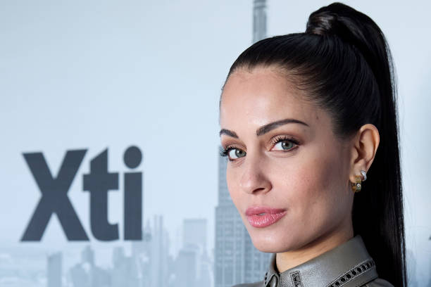 ESP: Hiba Abouk Presents New Xti Collection In Madrid