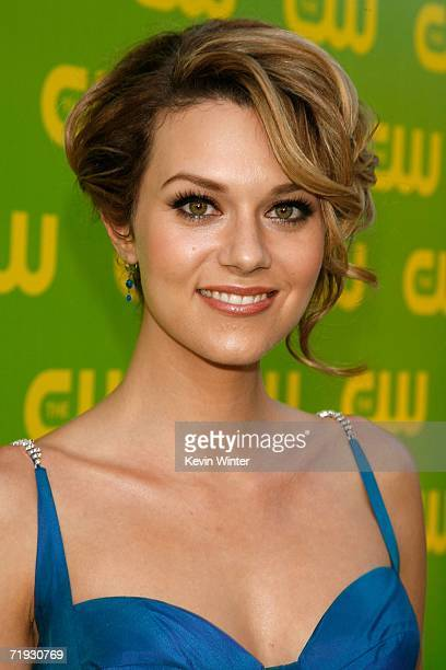 Actress Hilarie Burton arrives at the CW Launch Party at the Warner Bros Studio on September 18 2006 in Burbank California