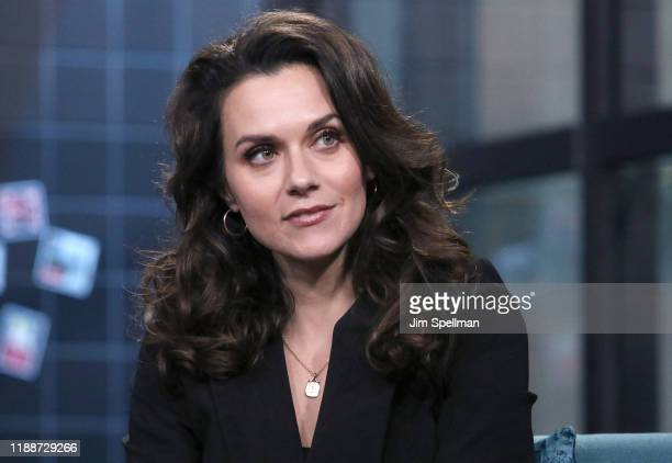 """Actress Hilarie Burton attends the Build Series to discuss """"A Christmas Wish"""" at Build Studio on November 19, 2019 in New York City."""