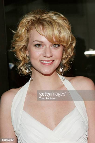 Actress Hilarie Burton attends The WB Upfront at Madison Square Garden May 17 2005 in New York City