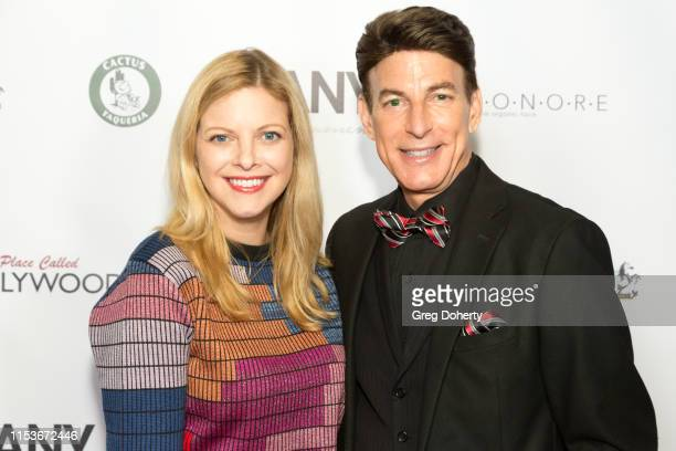 Actress Hilary Barraford and and Red Carpet Host BJ Korros attend an FYC Event A Place Called Hollywood at TCL Chinese 6 Theatres on June 03 2019 in...