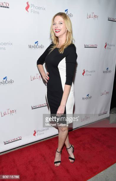 Actress Hilary Barraford attends the premiere of Uncork'd Entertainment's The Lullaby at Laemmle's Ahrya Fine Arts Theatre on March 1 2018 in Beverly...