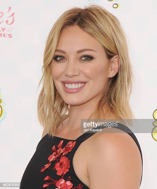 Actress Hilary Duff arrives at the 2014 Teen Choice Awards at The Shrine Auditorium on August 10 2014 in Los Angeles California