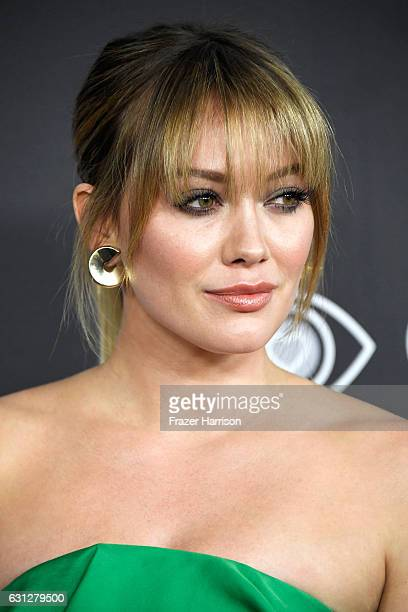 Actress Hilary Duff attends the 18th Annual PostGolden Globes Party hosted by Warner Bros Pictures and InStyle at The Beverly Hilton Hotel on January...