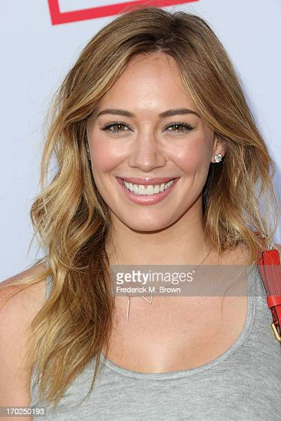 Actress Hilary Duff attends the First Annual Children Mending Hearts Style Sunday on June 9 2013 in Beverly Hills California