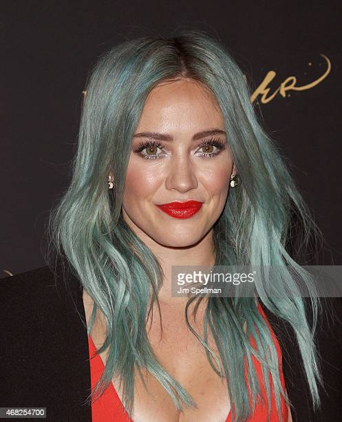Actress Hilary Duff attends the premiere of TV Land's 'Younger' at Landmark's Sunshine Cinema on March 31 2015 in New York City