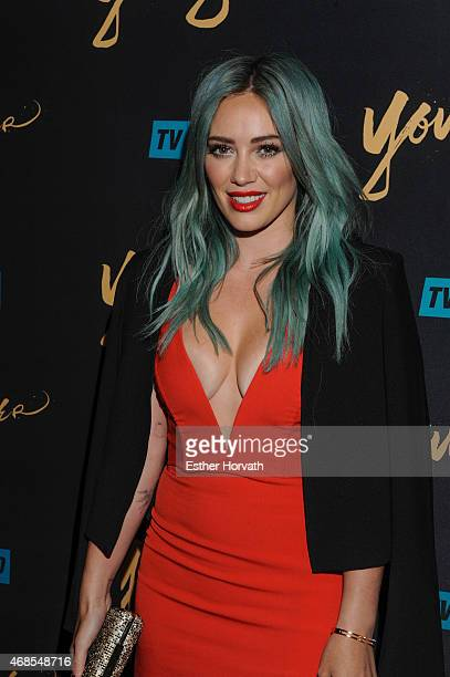Actress Hilary Duff attends the premiere of TV Land's 'Younger' at Landmark Sunshine Cinema on March 31 2015 in New York City