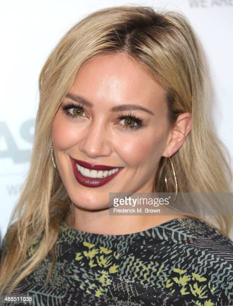 Actress Hilary Duff attends the Stars Celebrate the ASPCA's Commitment to Los Angeles on May 6 2014 in Beverly Hills California