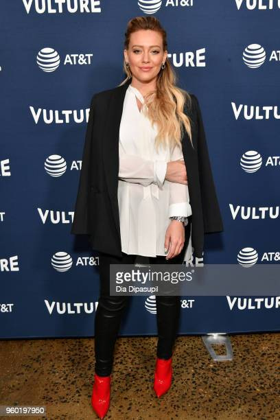 Actress Hilary Duff attends the Vulture Festival Presented By ATT Milk Studios Day 1 at Milk Studios on May 19 2018 in New York City