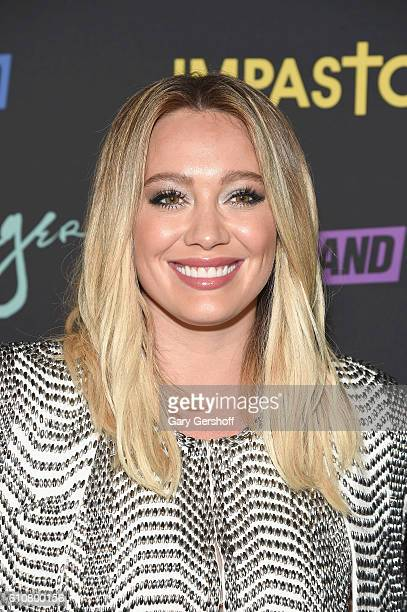 "Actress Hilary Duff attends the ""Younger"" Season 3 and ""Impastor"" Season 2 New York premiere at Vandal on September 27, 2016 in New York City."