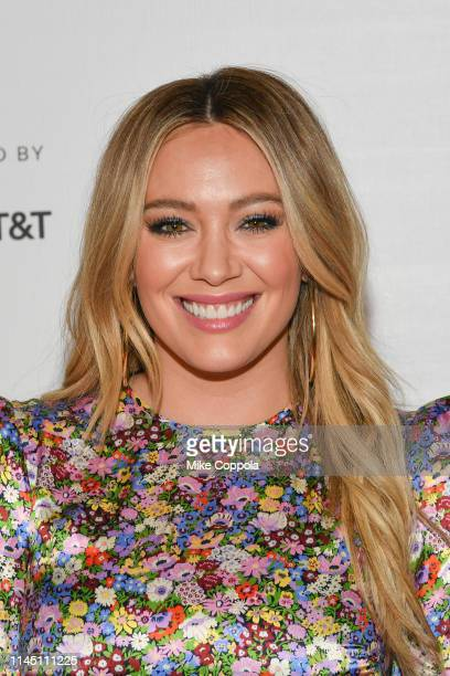 Actress Hilary Duff attends Tribeca TV: Younger at Spring Studio on April 25, 2019 in New York City.