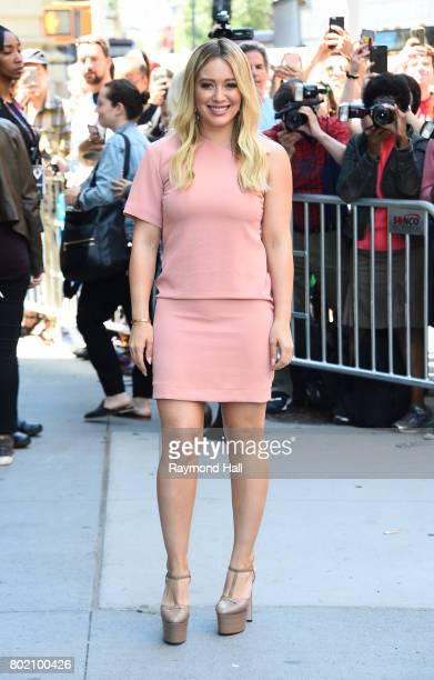 Actress Hilary Duff is seen walking in Soho on June 27 2017 in New York City