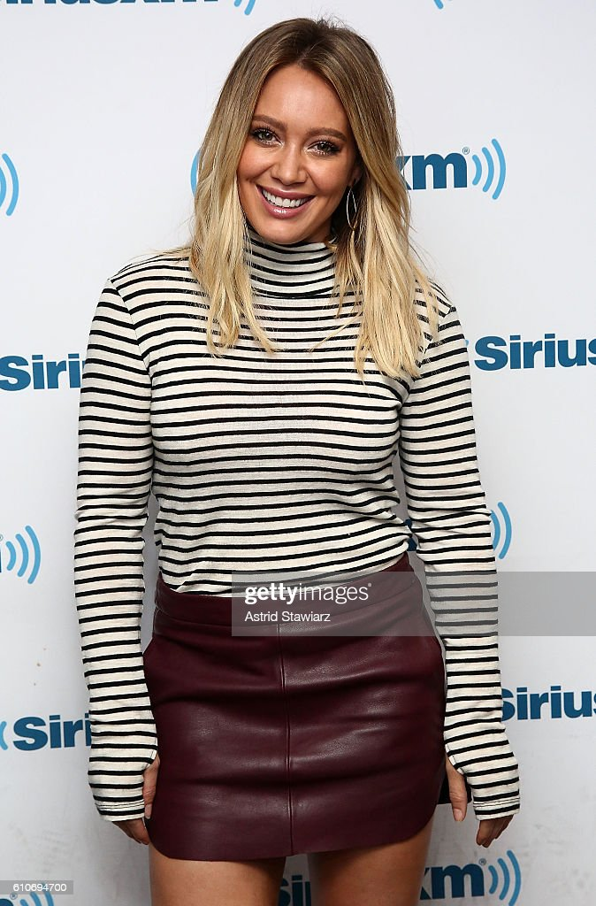 Celebrities Visit SiriusXM - September 27, 2016