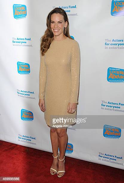 Actress Hilary Swank arrives at The Actor's Fund 2014 The Looking Ahead Awards at Taglyan Cultural Complex on December 4 2014 in Hollywood California