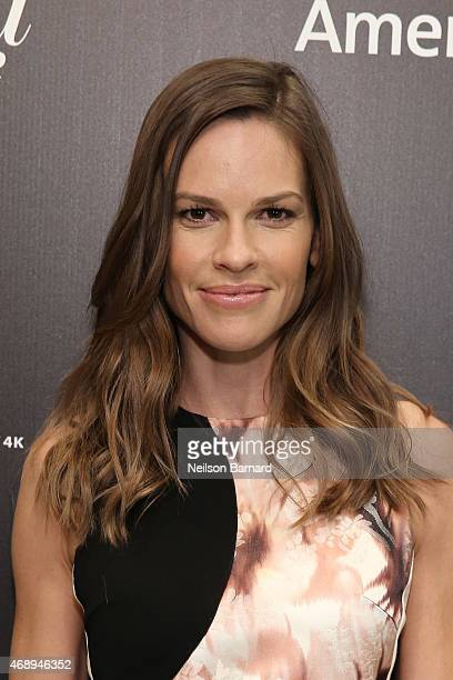 Actress Hilary Swank attends 'The 35 Most Powerful People In Media' celebrated by The Hollywoood Reporter at Four Seasons Restaurant on April 8 2015...