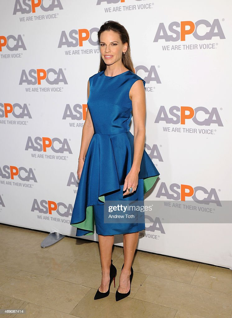ASPCA'S 18th Annual Bergh Ball Honoring Edie Falco And Hilary Swank