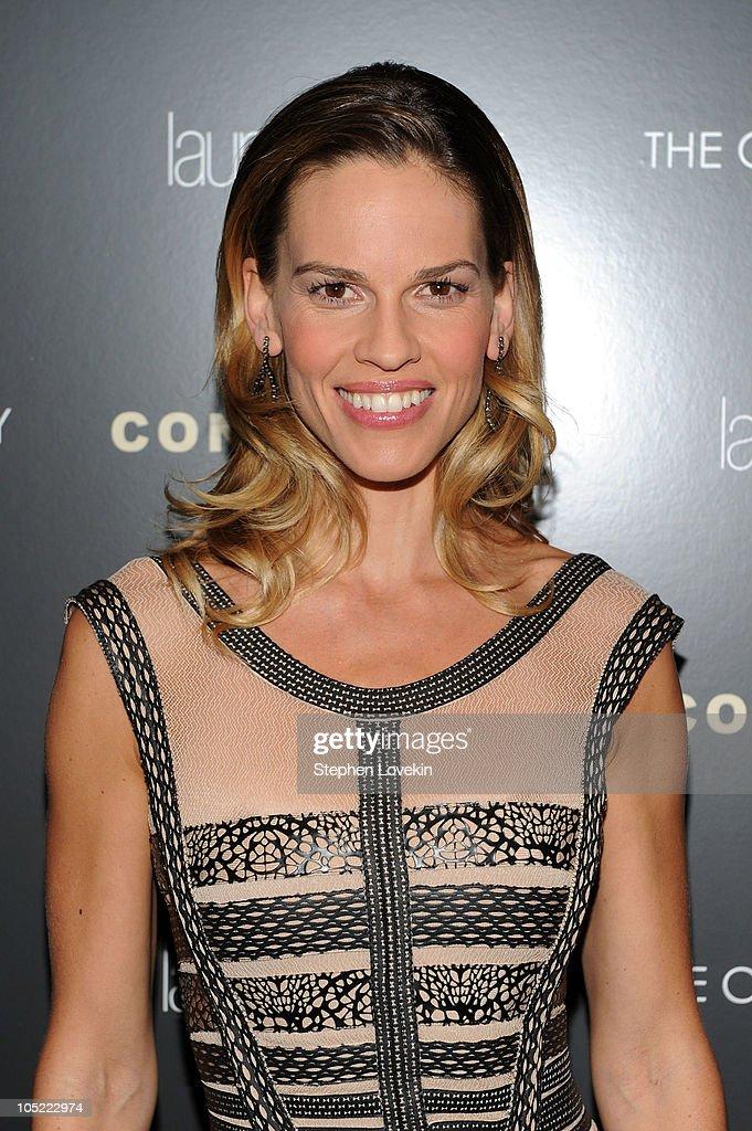 "The Cinema Society & Laura Mercier Host A Screening Of ""Conviction"" - Inside Arrivals : News Photo"