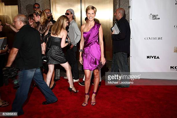 Actress Hilary Swank attends the Conde Nast Fashion Rocks at Radio City Music Hall on September 5 2008 in New York City