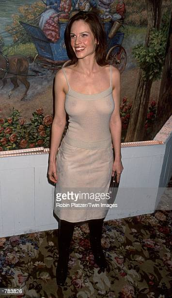 Actress Hilary Swank attends the National Board of Review Awards held at the Tavern on the Green January 16 2001 in New York City