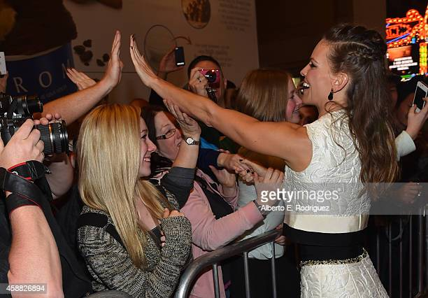 Actress Hilary Swank attends the screening of 'The Homesman' during AFI FEST 2014 presented by Audi at Dolby Theatre on November 11 2014 in Hollywood...