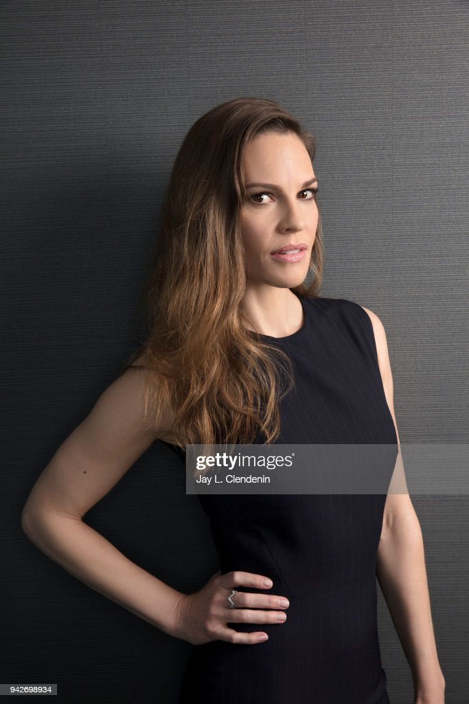 Hilary Swank, Los Angeles Times, April 2, 2018