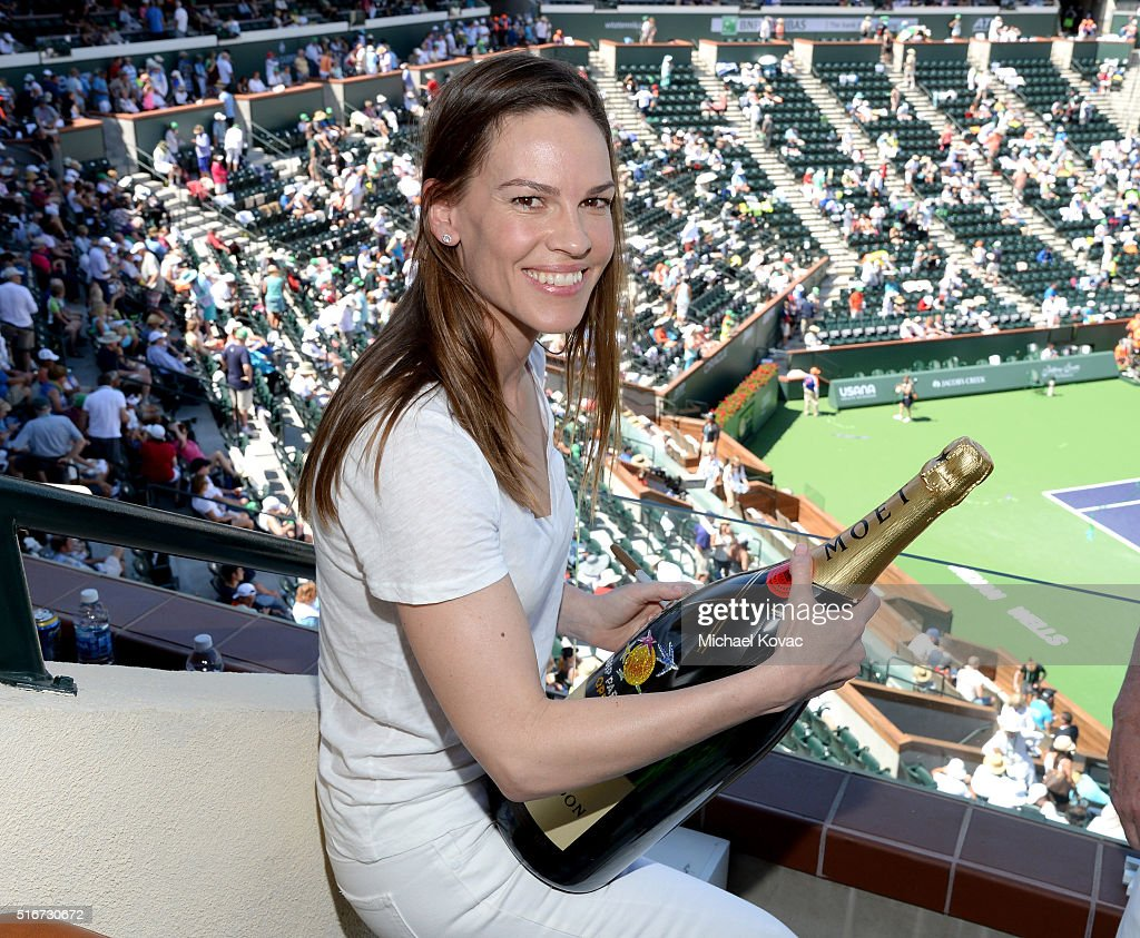 The Moet and Chandon Suite At The 2016 BNP Paribas Open - Day 14
