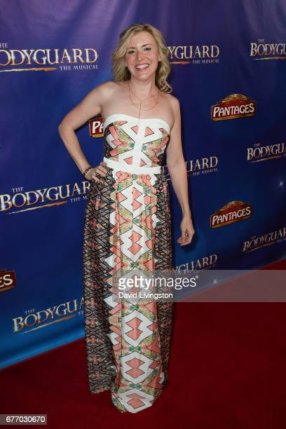 Actress Hillary Hickam arrives at the premiere of 'The Bodyguard' at the Pantages Theatre on May 2 2017 in Hollywood California