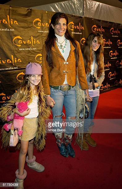 "Actress Hillary Shepard and Charlotte and Cassidy Turner attend opening night of ""Cavalia: A Magical Encounter Between Horse and Man"" on Novemebr 10,..."