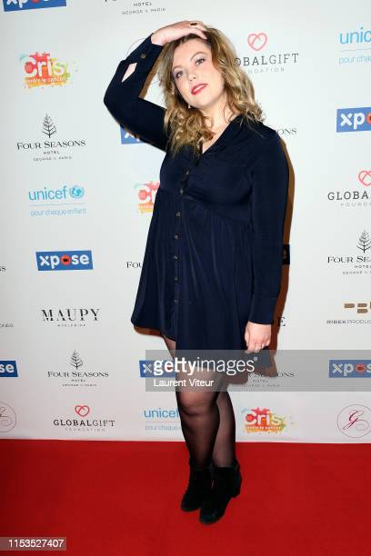 "Actress Héloïse Martin attends the ""Global Gift Gala"" Paris 2019 at Four Seasons Hotel George V on June 03, 2019 in Paris, France."
