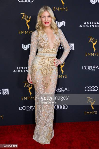 Actress Hofit Golan attends the Television Academy Honors Emmy Nominated Performers Reception at Wallis Annenberg Center for the Performing Arts on...