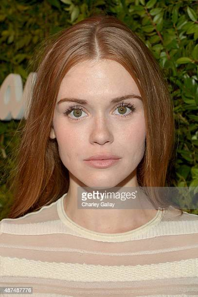 Actress Holland Roden attends as Ferragamo Celebrates 100 Years in Hollywood at the newly unveiled Ferragamo boutique on September 9 2015 in Beverly...