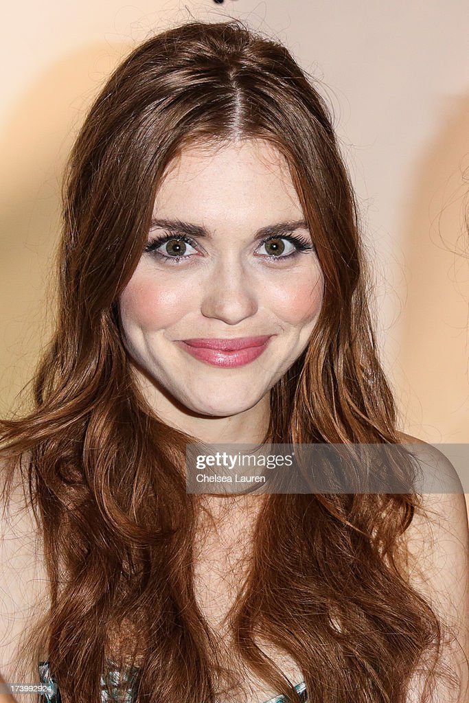 Actress Holland Roden attends MTV2 Party in The Park at Comic-con International 2013 at PETCO Park on July 18, 2013 in San Diego, California.