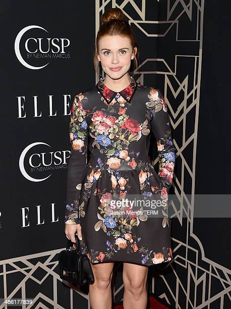 Actress Holland Roden attends the 5th Annual ELLE Women in Music Celebration presented by CUSP by Neiman Marcus Hosted by ELLE EditorinChief Robbie...
