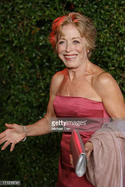 Actress Holland Taylor arrives at 'The Cadillac of Premieres' at Area Nightclub on September 19 2007 in West Hollywood California