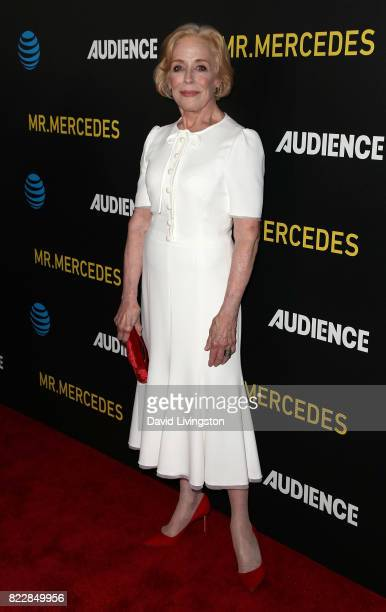 Actress Holland Taylor attends a screening of ATT Audience Network's 'Mr Mercedes' at The Beverly Hilton Hotel on July 25 2017 in Beverly Hills...
