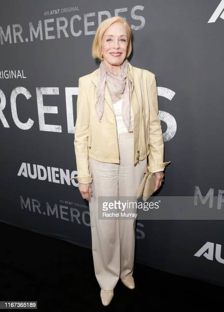 Actress Holland Taylor attends AT&T AUDIENCE Network SAG screening and panel for Mr. Mercedes Season 3 at Linwood Dunn Theater at the Pickford Center...