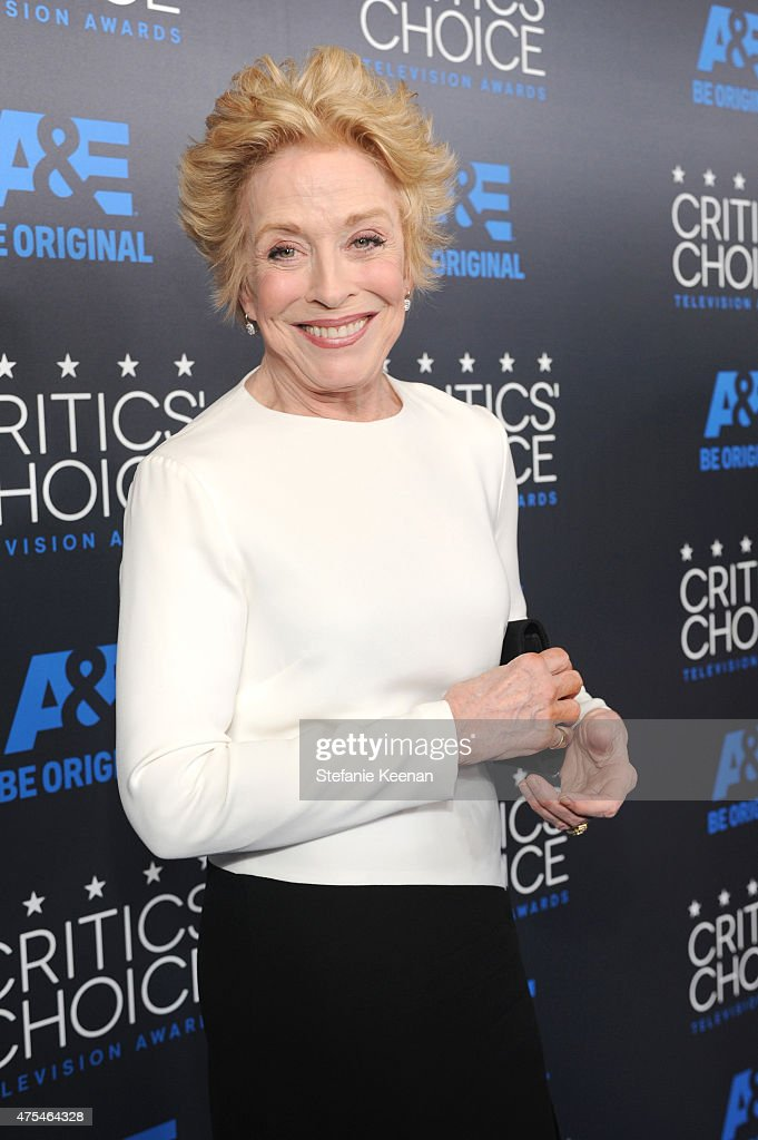 Actress Holland Taylor attends the 5th Annual Critics' Choice Television Awards at The Beverly Hilton Hotel on May 31, 2015 in Beverly Hills, California.