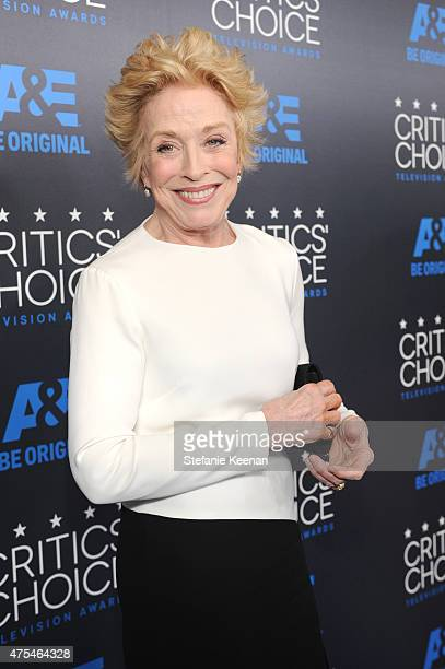 Actress Holland Taylor attends the 5th Annual Critics' Choice Television Awards at The Beverly Hilton Hotel on May 31, 2015 in Beverly Hills,...