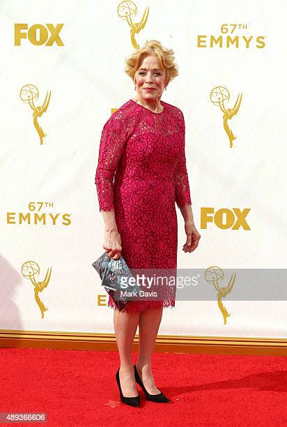 Actress Holland Taylor attends the 67th Annual Primetime Emmy Awards at Microsoft Theater on September 20, 2015 in Los Angeles, California.
