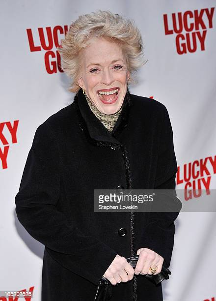Actress Holland Taylor attends the Lucky Guy Broadway Opening Night at The Broadhurst Theatre on April 1 2013 in New York City