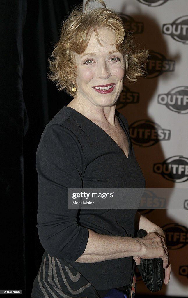 Actress Holland Taylor attends the opening night gala of 'Outfest 2004: The 22nd L.A. Gay and Lesbian Film Festival' on July 8, 2004 at the Orpheum Theatre, in Los Angeles, California.