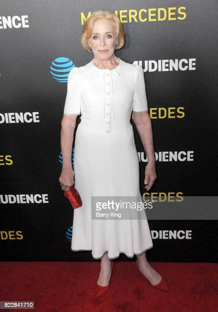 Actress Holland Taylor attends the screening of ATT Audience Network's 'Mr Mercedes' at The Beverly Hilton Hotel on July 25 2017 in Beverly Hills...