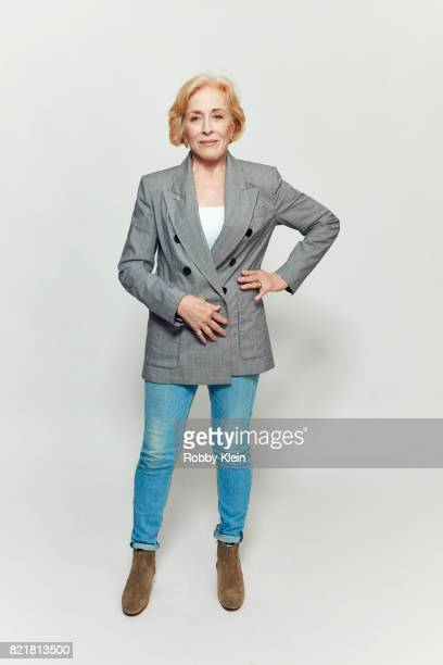 Actress Holland Taylor from AT&T AUDIENCE's 'Mr. Mercedes' poses for a portrait during Comic-Con 2017 at Hard Rock Hotel San Diego on July 23, 2017...