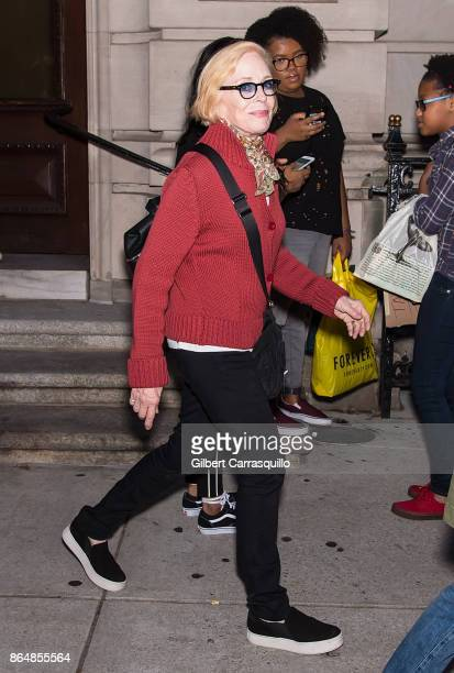 Actress Holland Taylor is seen out and about on October 21 2017 in Philadelphia Pennsylvania