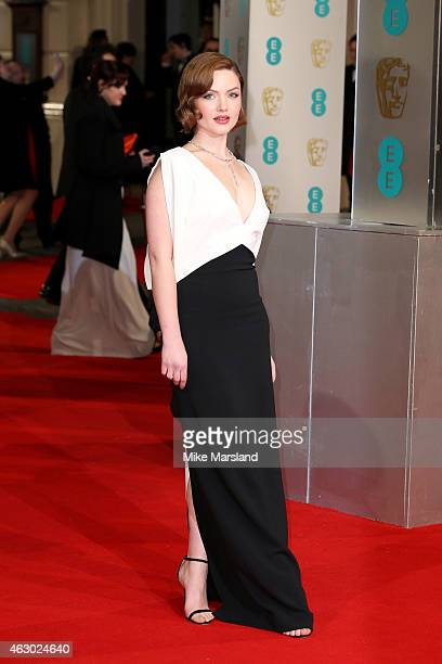 Actress Holliday Grainger attends the EE British Academy Film Awards at The Royal Opera House on February 8 2015 in London England
